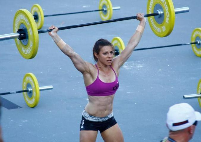 Crossfit Games Athlete Julie Foucher
