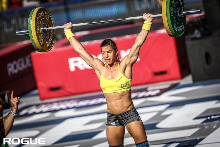 Julie Foucher 2014 CrossFit Games