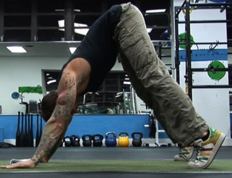 Pike push up from Athletic Muscle
