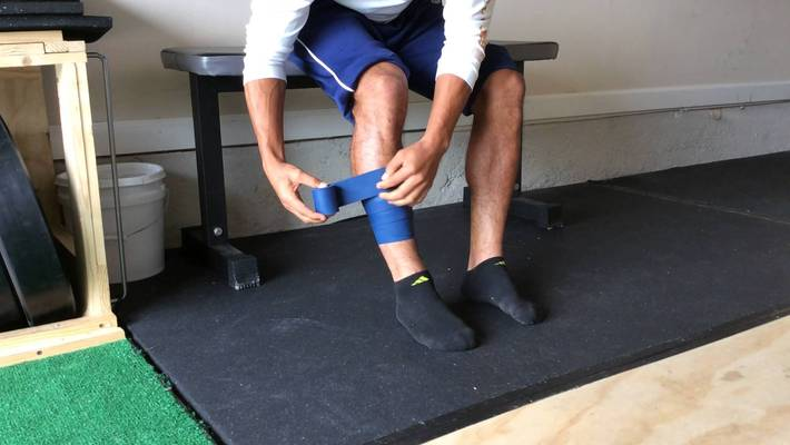 Calf Mobility With Bands