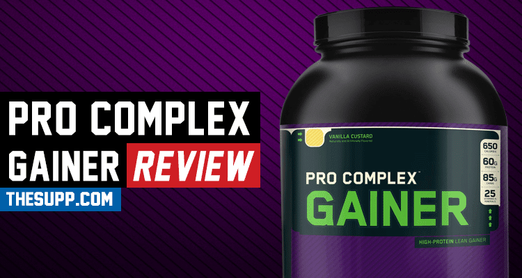 Pro Complex Gainer Review