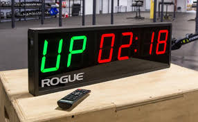 rogue echo crossfit timer