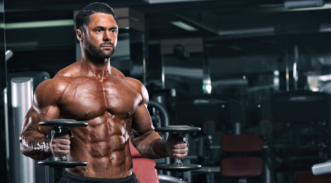 9 Dumbbell Chest Exercises You Can Do Without A Bench Athletic Muscle