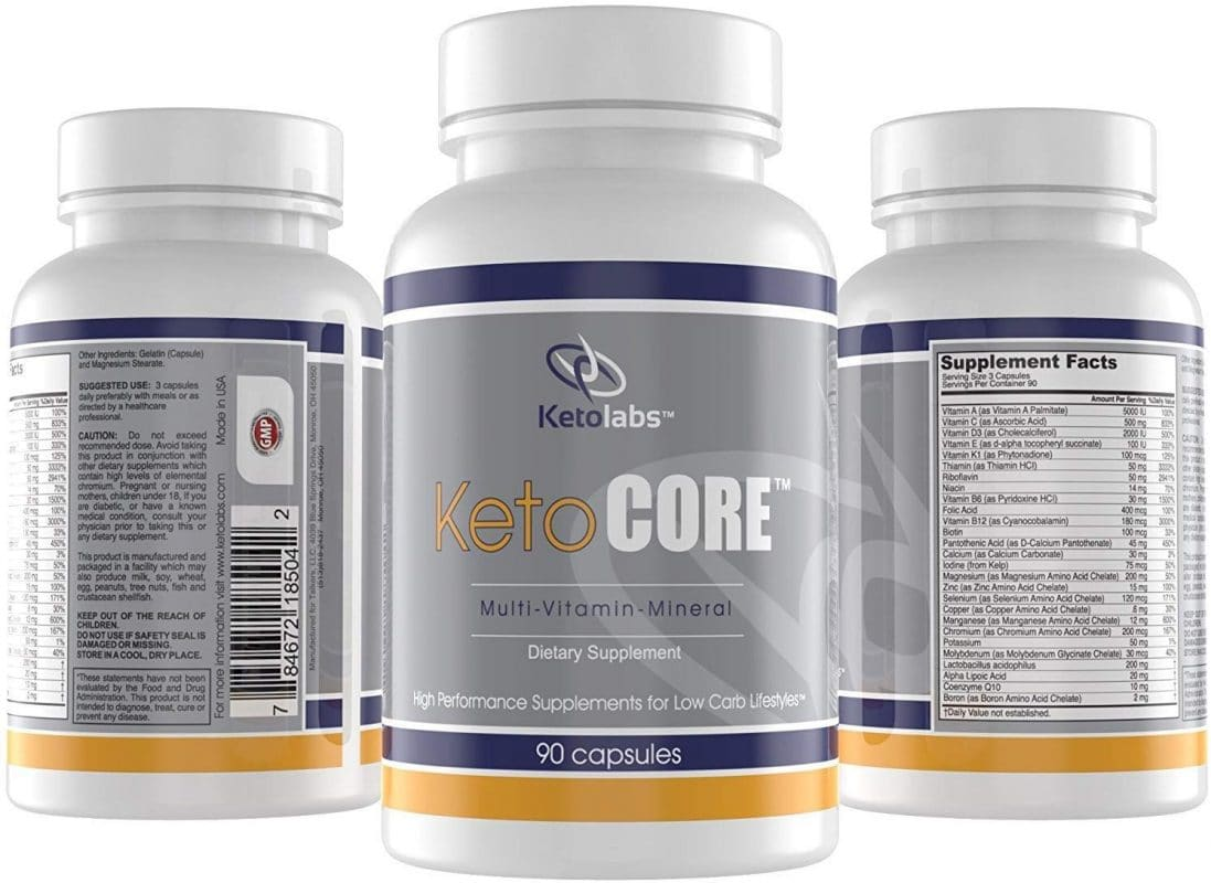 Ketolabs Keto Core Multivitamin