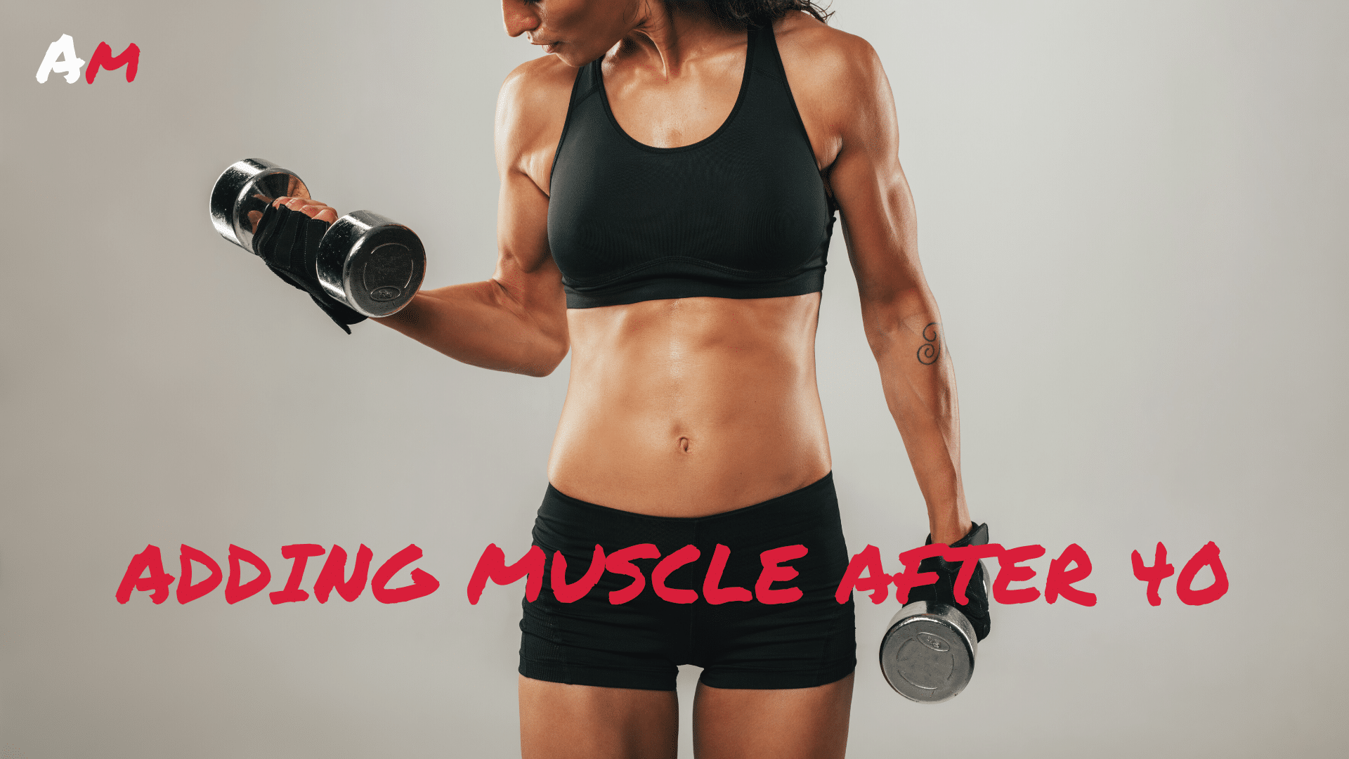 Female after 40 lifting weights