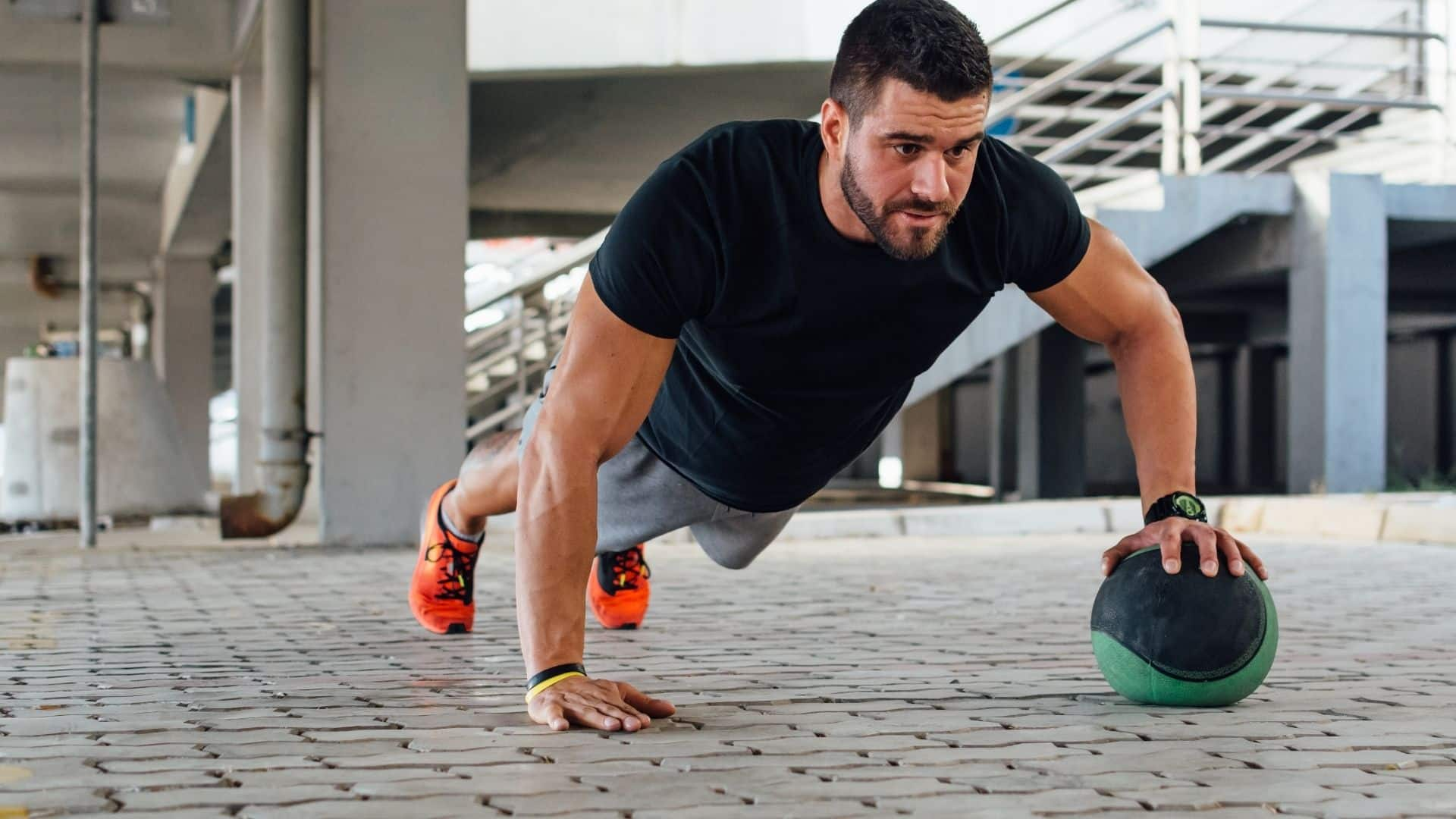 assisted arm push up